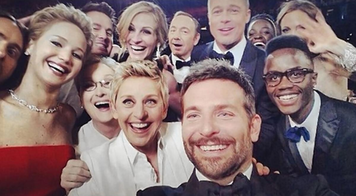 selfie oscars 2