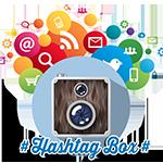 animation photo Hashtag box