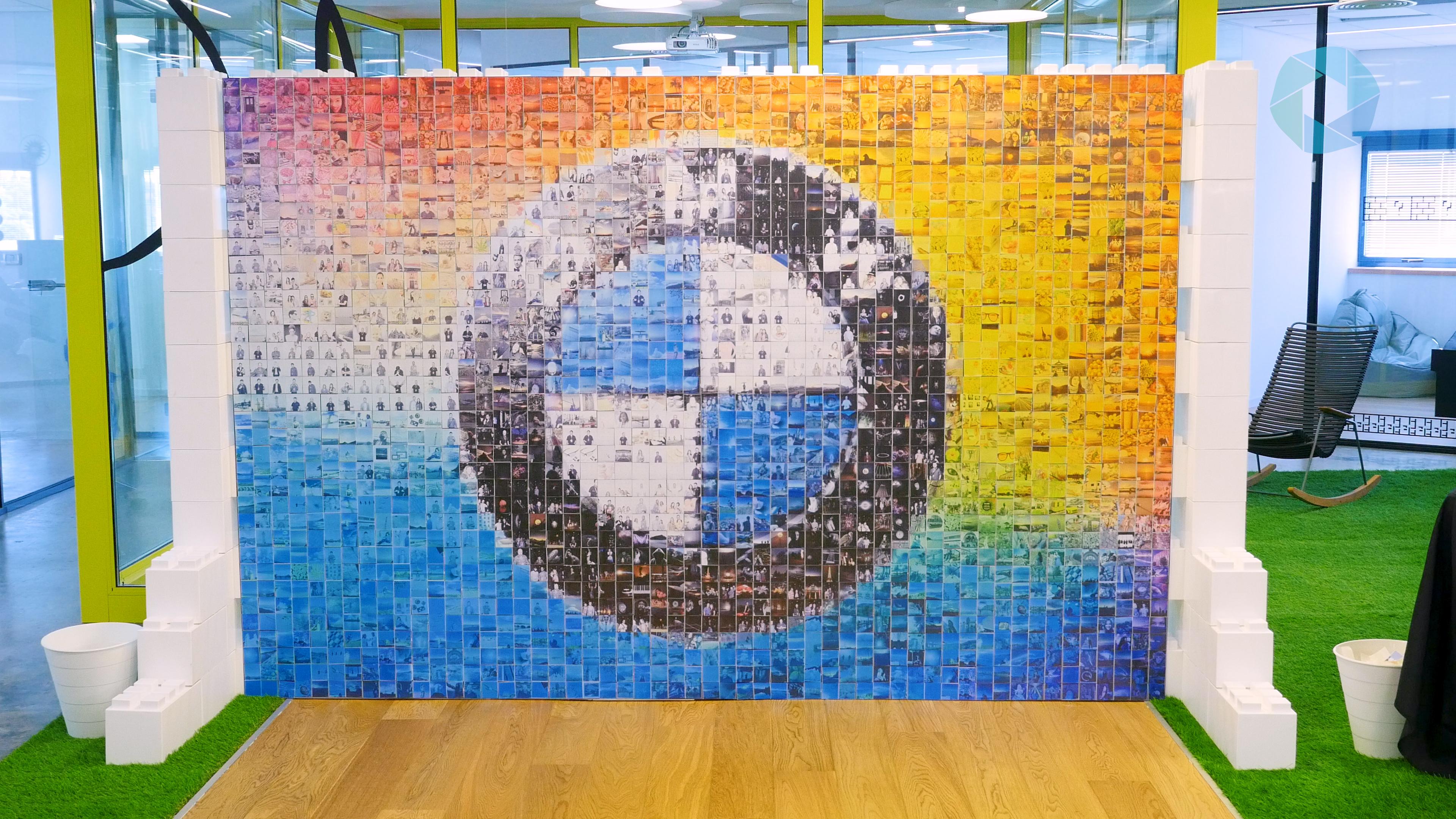 Animation photo mosaic wall 5