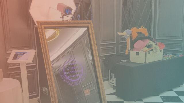 Animation photobooth Miroir
