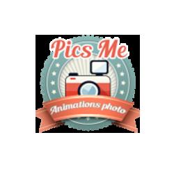 Logo PicsMe animation photo